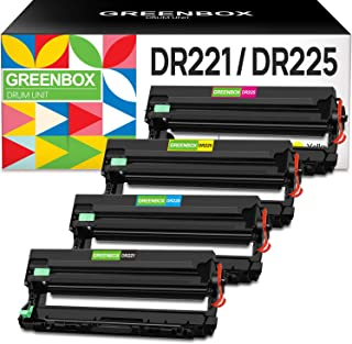 GREENBOX Compatible Drum Unit Replacement for Brother DR221CL DR221 DR-221 for HL-3140CW HL-3170CDW MFC-9130CW MFC-9330CDW...