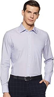 Louis Philippe Men's Regular fit Formal Shirt