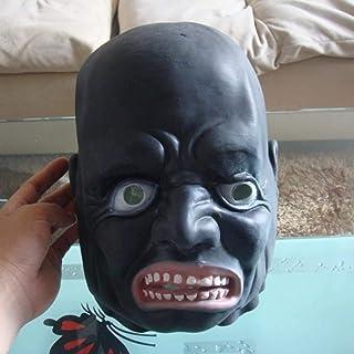 Masker Decoratie, Zwart-wit Impermanence Mask Halloween Horror Hoofddeksels Devil Devil Film prestatiessteunen Long Tongue...