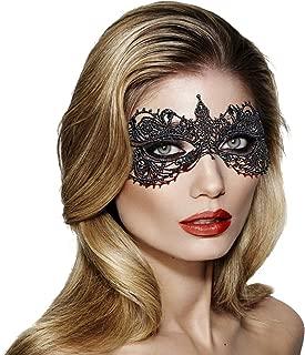 crochet masquerade mask