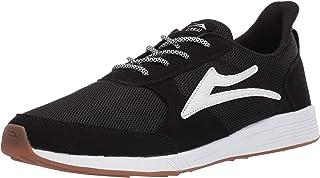Lakai Footwear Evo Black Meshsize Tennis Shoe, Black Mesh