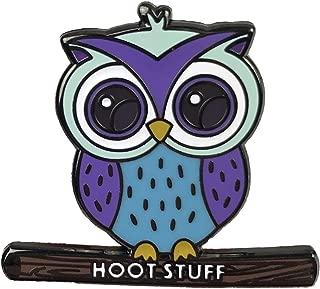Balanced Co. Cute Owl Enamel Pin Hoot Stuff Pin