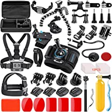 SmilePowo 42-in-1 Action Camera Accessorries Kit Mount...