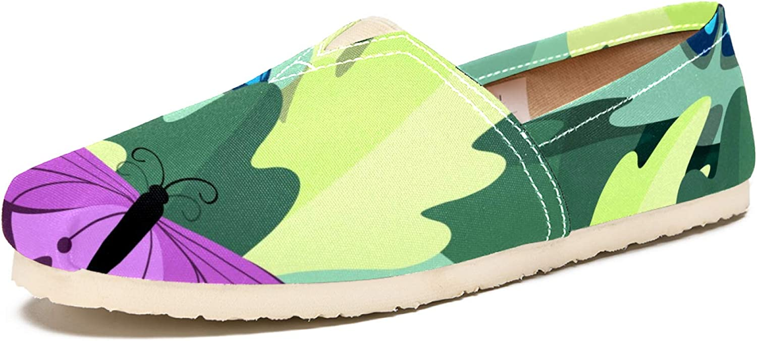 Butterfly Low price Green Loafers for Women Slip On Shoe All items in the store Dress Comfortable