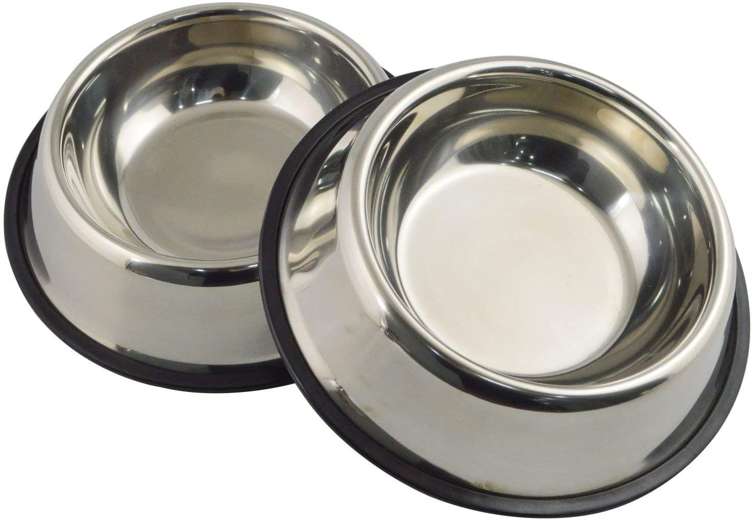 6. Mlife Dog Stainless Steel Water Bowl and Feeder Bowl