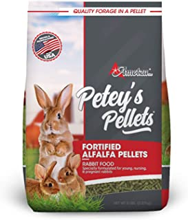 Petey's Fortified Alfalfa Hay Pellets - Rabbit Food