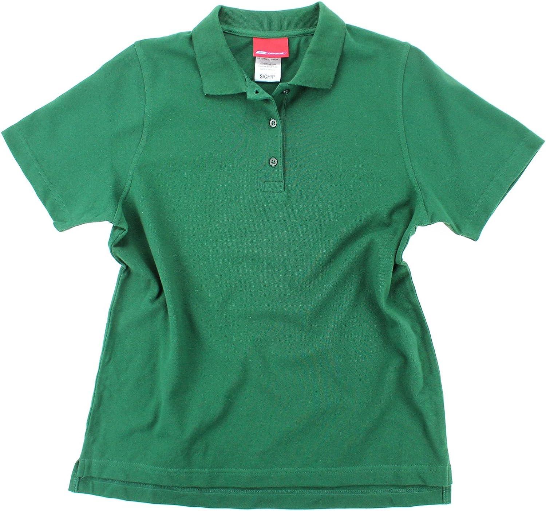 Reebok Womens Split Short Sleeve Polo