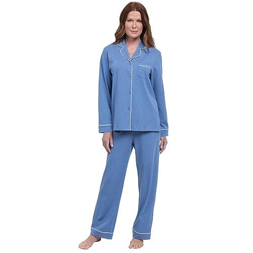 2226b9ae4b PajamaGram Pajamas for Women Soft - Cotton Jersey Womens Pajamas