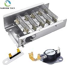 279838 Dryer Heating Element 3977767 3392519 Dryer Heating Element Kit for Whirlpool, Kenmore, Roper, Maytag, Estate, Inglis, KitchenAid, Crosley, Amana, Admiral, Magic Chef Dryer