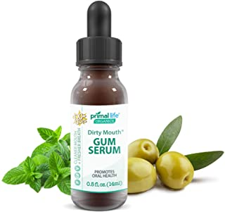 Sponsored Ad - Dirty Mouth Gum Serum, Mouthwash with Natural Essential Oils for Bad Breath Treatment, Teeth Whitening, and...