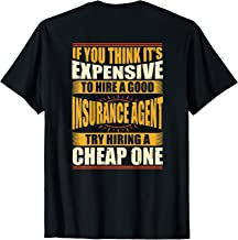 Best Mens Womens Funny Insurance Agent Shirts Underwriting Shirt Review