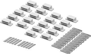 Magneetsnapper deurmagneet meubelmagneet kast snaper magneetsluiting wit 20 (ohne Schrauben) wit