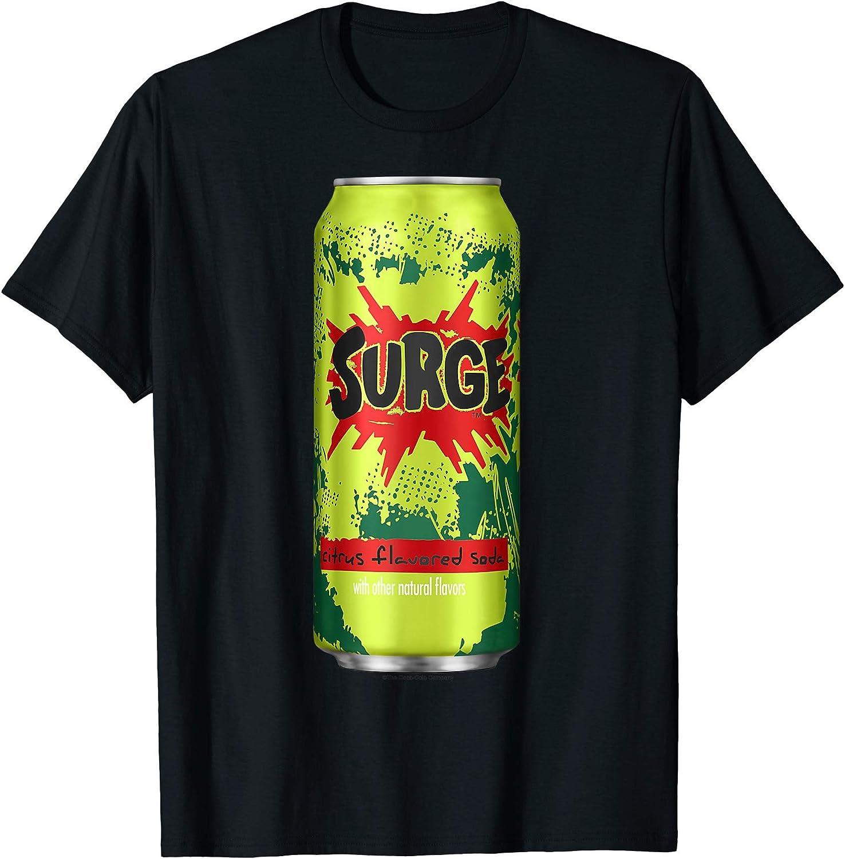 Coca Cola Surge White Men/'s T-Shirt New