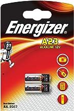 Energizer Lot de 2 piles alcalines A23 MN21 LRV08 GP23A 12V