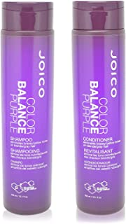 Joico Color Balance Purple Shampoo Plus Conditioner 10.1 oz.