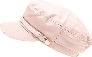 c8bf0bbf8b2 MIRMARU Women s 100% Cotton Greek Fisherman s Sailor Fiddler Hat Cap