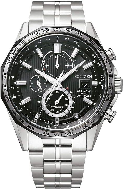 Orologio cronografo uomo citizen h 800 trendy cod. at8218-81e