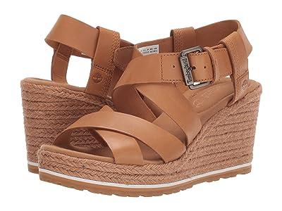 Timberland Nice Coast Ankle Strap Sandal (Medium Beige Full Grain) Women