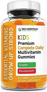 Premium Kids Multivitamin Gummies with Vitamin C & Zinc for Immune & Energy Support | Non-GMO, Complete Daily Essential Vi...