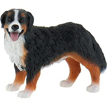 Amazon Com Bullyland Bernese Mountain Dog Bianca Action Figure Toys Games