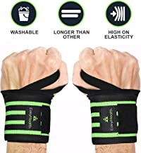 """EasyHealth Wrist Wraps 22"""" Professional Grade with Thumb Loops Wrist Support for Men and Women"""