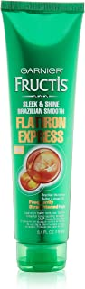 Garnier Hair Care Fructis Brazilian Smooth Flatirion Express, Difficult to Straighten Hair, 5.1 Fluid Ounce