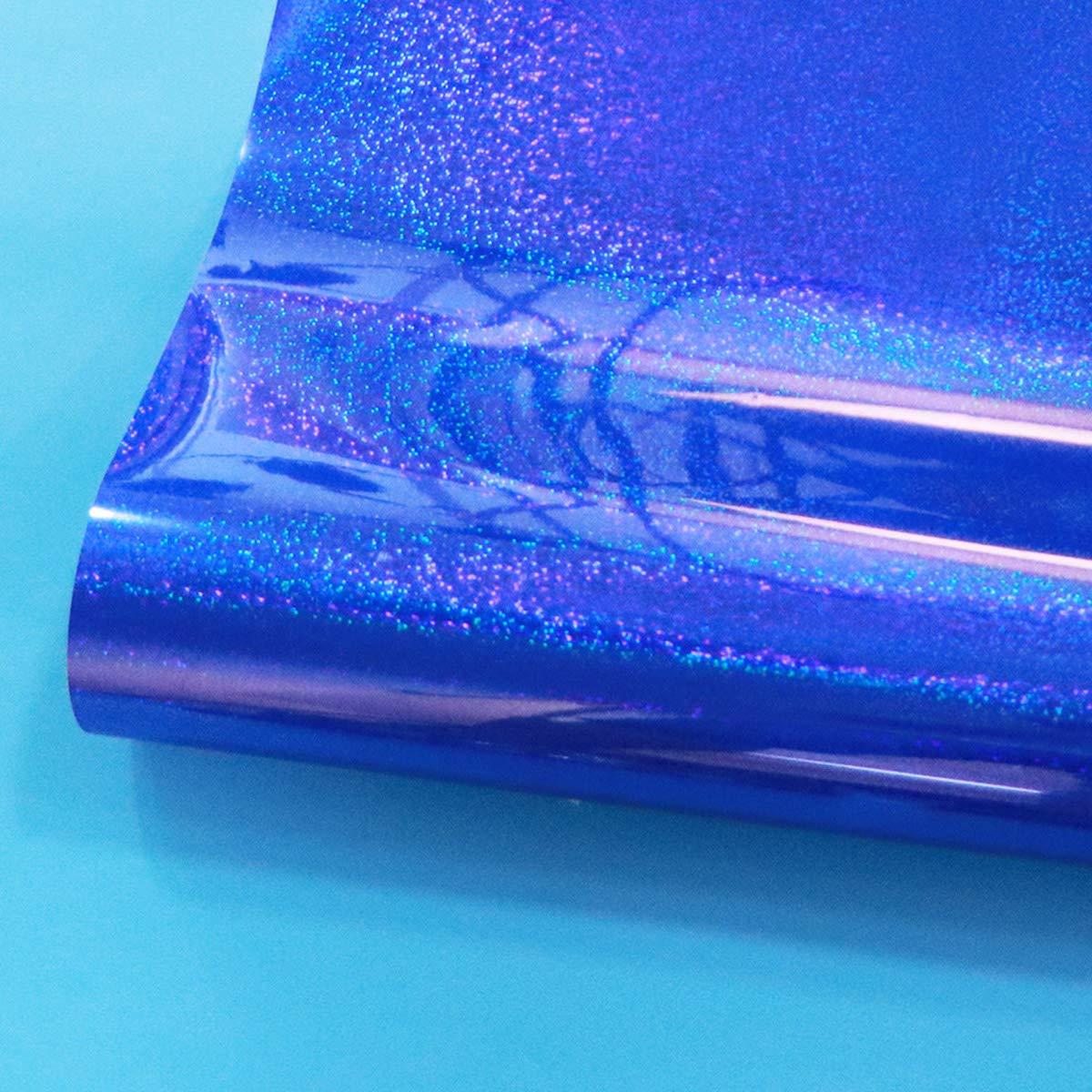 SUPVOX Rollo de vinilo de transferencia de calor Película de estampado de calor HTV para prendas de vestir de la camiseta Bolsas de lona y otras telas de color azul: Amazon.es: Hogar