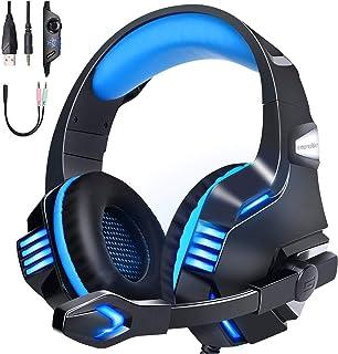 【令和 モデル】 ゲーミングヘッドセット ps4 ヘッドセット 有線 ps5 LED マイク付き switch FPS PC ヘッドホン マイク ノイズキャンセリング へっどセット 重低音 強化 騒音抑制 軽量 伸縮可能 男女兼用 Xbox O...