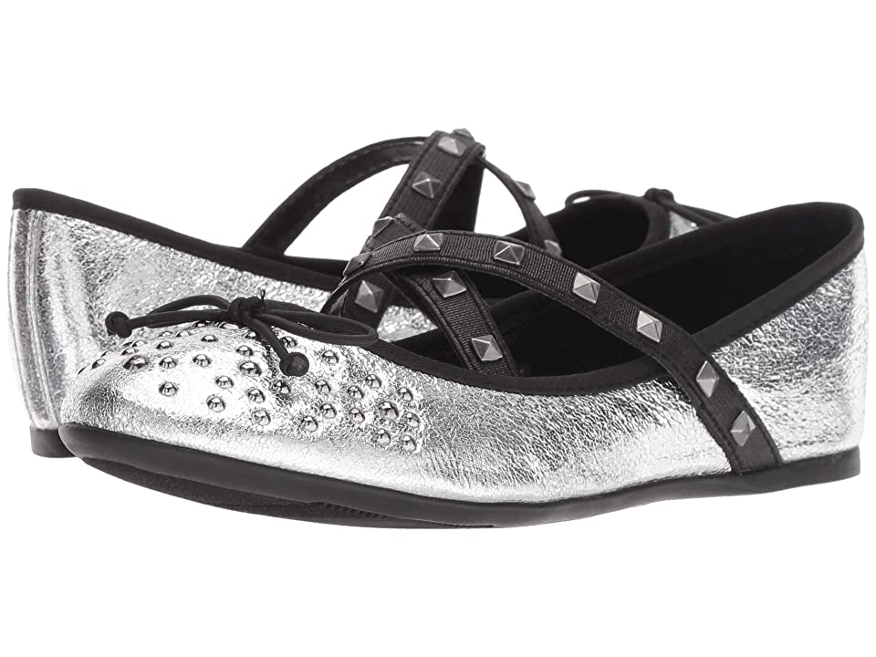 Nina Kids Averi (Toddler/Little Kid/Big Kid) (Silver) Girls Shoes