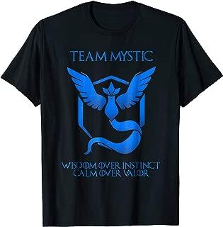 Team Mystic - Wisdom Over Instinct, Calm Over Valor
