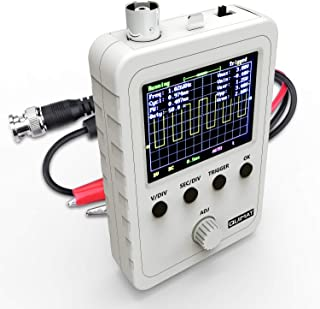 """Quimat Updated 2.4"""" TFT Digital Oscilloscope Kit with BNC-Clip Cable Probe Q15001O (Assembled Finished Machine)"""