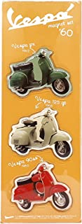 Magnets BLISTER 50-60-70 Years, Yellow, Vespa, ITALY