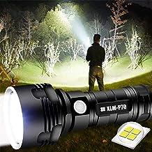 30000-100000 Lumen Krachtige Led Waterdichte Zaklamp Lamp Ultra Helder, Oplaadbaar Hand Zoeklicht Voor Outdoor Wandelen Ja...