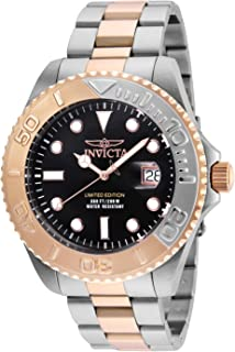 Invicta Men's Pro Diver Quartz Diving Watch with Two-Tone-Stainless-Steel Strap, 9 (Model: 24625)