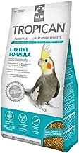 Tropican Lifetime Formula Granules Parrot Food, 2 Milliliter, 4 Pound, 2 Pack