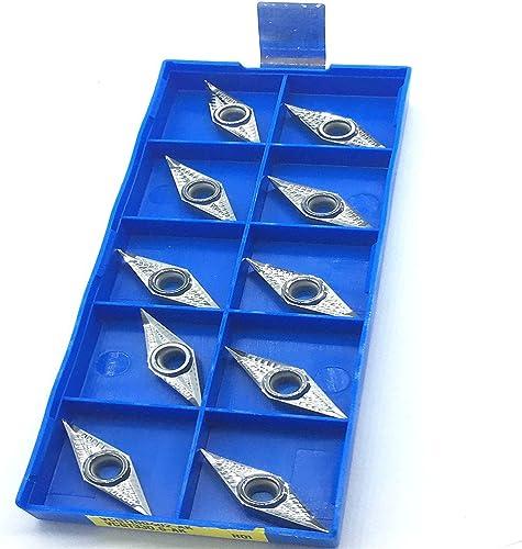 discount ZIMING--1 VCGT160402-AK sale H01 VCGT330.5-AK H01 Aluminum online sale Cutting Inserts 10PCS online sale