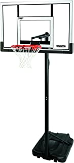 Lifetime 90176 Portable Basketball System, 52 Inch Shatterproof Backboard
