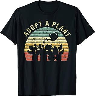 Vintage Gardening Adopt a Plant Funny Indoor Garden T-Shirt