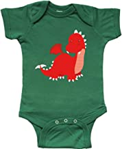 inktastic Adorable Red Dragon Infant Creeper