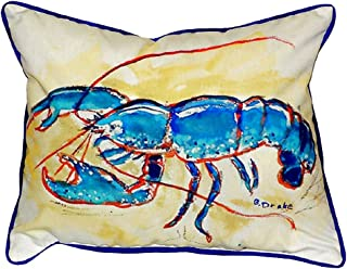"Betsy Drake SN381 Lobster Pillow, 11"" x14"""