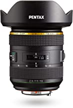 HD PENTAX-DA11-18mmF2.8ED DC AW Ultra-Wide-Angle Zoom Lens 17-27.5mm (Equivalent to 35mm Format) All Weather Resistant Extra-Sharp High-Contrast Images Free of Flare and Ghost Images Smooth, Quiet AF