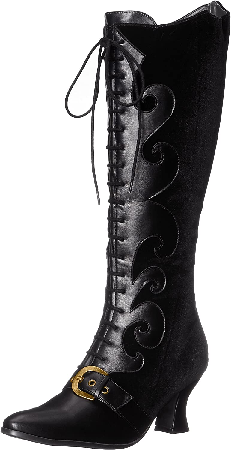History of Victorian Boots & Shoes for Women Ellie Shoes Womens 253-Fain Boot  AT vintagedancer.com