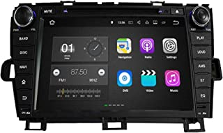 8 Inch TouchscreenAndroid 7.1 OS Car Radio Compatible with Toyota Prius(2009-2014) LHD, DVD Player Bluetooth DAB+ Radio He...
