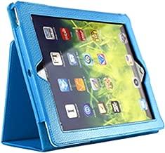 iPadケース iPadケース 薄型 軽量 360度フルカバー iPadケース 薄型 軽量 360度フルカバー ケース iPad 9.7 2017 Pro 10.5 モデル iPad mini4 iPad Air2 iPad air2 iPad air iPad2 iPad3 iPad4 iPad Pro 9.7 (i pad Pro10.5, スカイブルー)