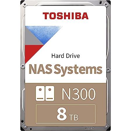 Toshiba N300 - Disco duro interno de 8 TB (SATA 6 GB/s, 7200rpm) color gris