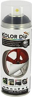 Kolor Dip Spain KD12001 Pintura en Spray con Vinilo Líquido Extraible, Negro Metalizado