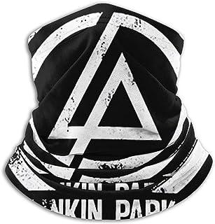 Funny Club Winddichter Gesichtsschal für Damen und Herren, Linkin Park für Outdoor, Skifahren, Laufen, Radfahren, Motorrad bei kaltem Wetter im Winter