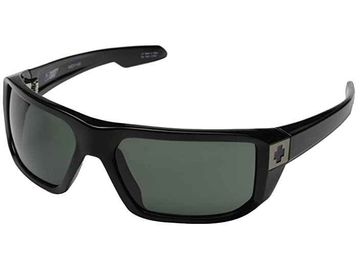 Spy Optic McCoy (Black/Happy Gray Green) Sport Sunglasses