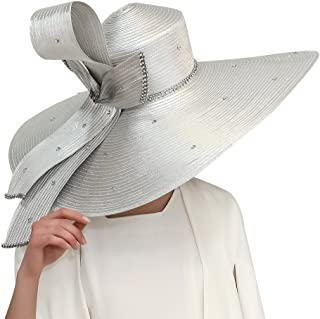 Women Hats Hot Red Color Church Hats Lady Party Wear Fedoras Hats