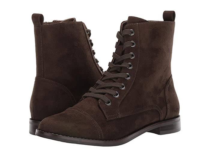Vintage Boots, Retro Boots Aerosoles Prism Green Fabric Womens Lace-up Boots $59.88 AT vintagedancer.com